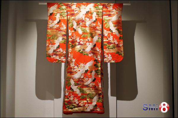 Фото праздничного кимоно от центра «Сибирь-Хоккайдо» к выставке Хироаки Мияямы в Новосибирске