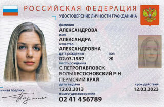 Фото проекта электронного паспорта