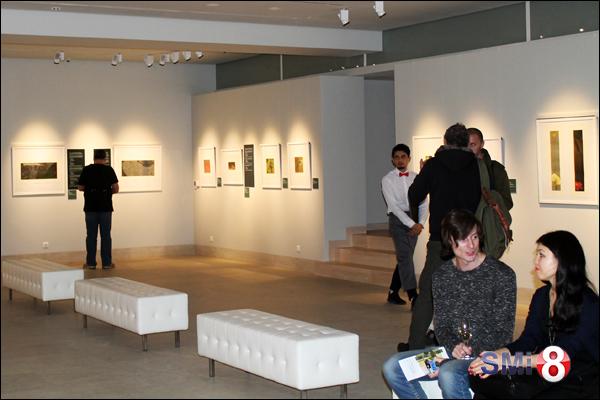 """Фото. Выставка гравюр Хироаки Мияямы в """"Белой галерее"""" Новосибирска"""