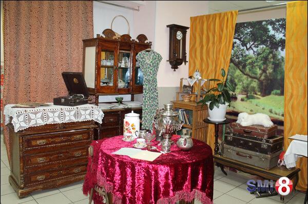 Фото. Пример интерьера комнаты в музее НЗХК