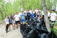 Уборка несанкционированных свалок в Новосибирске