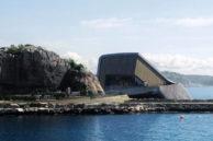 Подводный ресторан в Норвегии