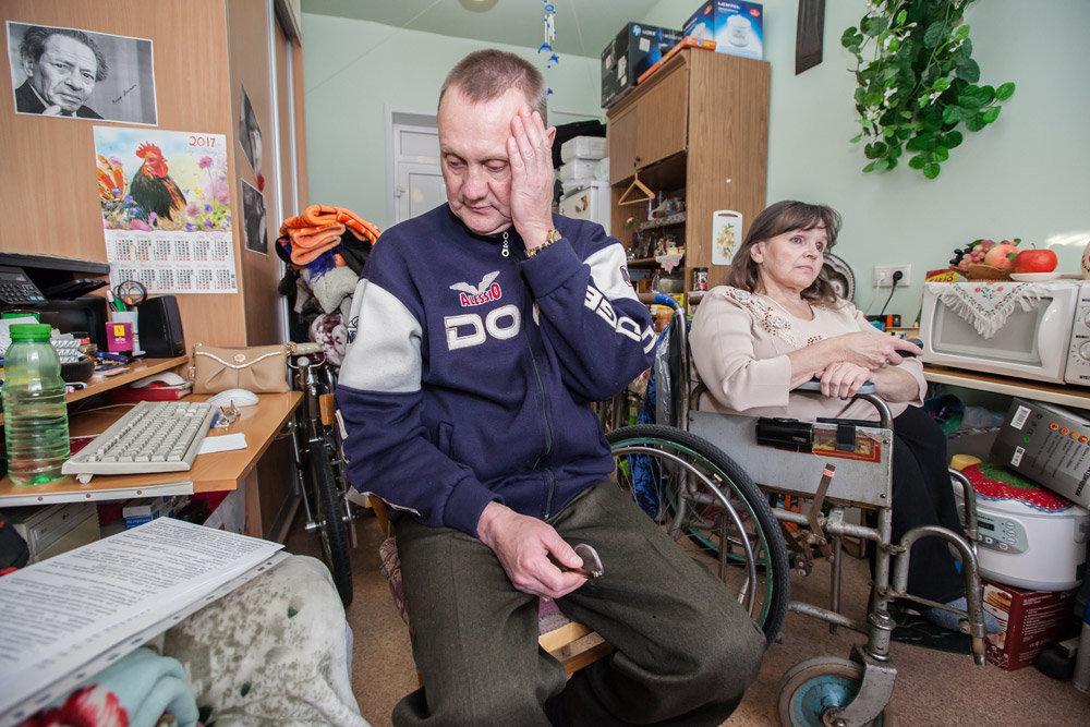Фото. Мэрия планирует создать все условия для полноценного передвижения инвалидов по городу
