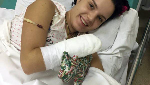 Фото. Маргарита Грачёва говорит, что потеря кистей рук не самое страшное, что могло произойти