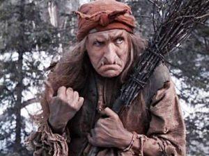 Фото. Баба Яга в исполнении Милляра любима зрителями всех возрастов