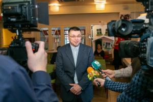 Фото. Федор Федорович Григорьев, руководитель Новосибирской школы журналистики