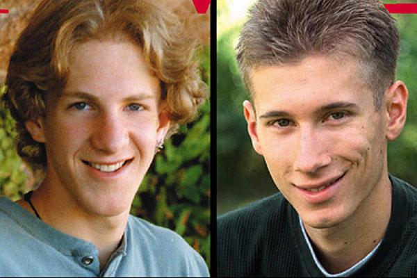 Фото. Американские подростки расстреляли своих сверстников в американской школе и стали кумирами детей по всему миру