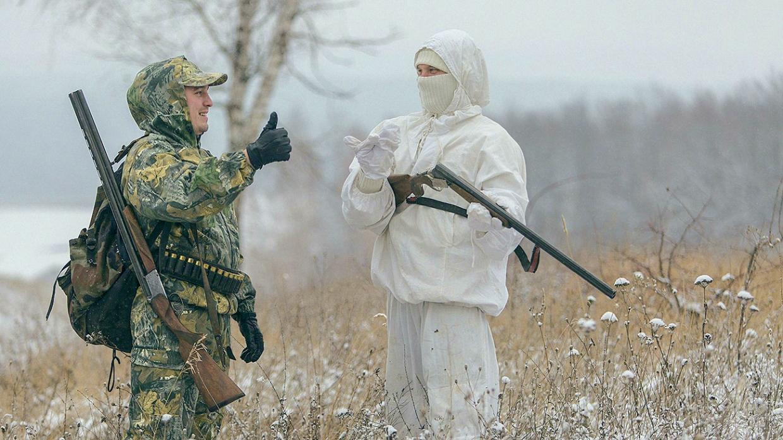 Фото. Всех охотников будут обучать обращаться с оружием