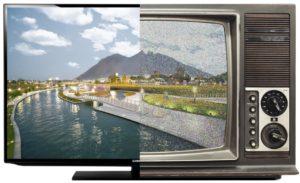 Фото. Эра старых телевизоров уходит в прошлое вместе с аналоговых вещанием