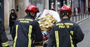 Фото. В тяжёлом состоянии после взрыва в Париже остаются около 9 человек