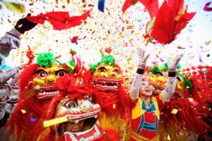 Фото. Китайцы стали более лояльно относиться к нашему Новому году