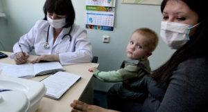 Фото. Дети в период эпидемий подвержены повышенному риску