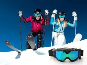 Фото. Очки для горных лыж с видеокамерой могут признать за шпионское оборудование