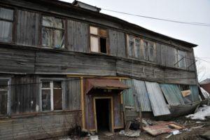 Фото. Тысячи россиян вынуждены годами ютиться в аварийных домах