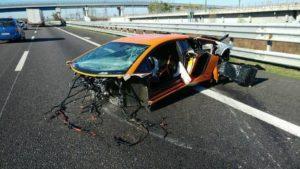 Фото. Неаккуратные и неопытные водители часто попадают в ДТП на автомобилях каршеринга