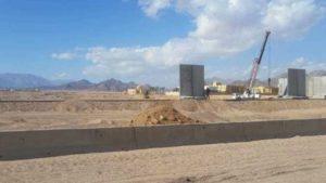 Фото. Власти Египта пытаются держать новости о строительстве в секрете