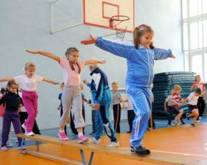 """Фото. Родители учеников считают, что физкультура преподаётся в школах """"на отлично"""""""