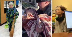 Фото. Мать шестилетнего мальчика хотела избавиться от него, оставив на ночь в заповеднике с пакетом на голове
