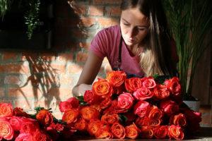 Фото. Продавцы цветов повысят цены на букеты в канун 8 марта