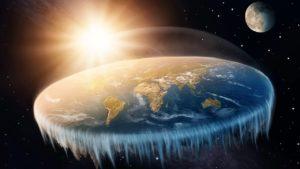 Фото. Плоская Земля существует только на картинках