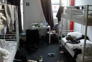 Фото. Обстановка в хостеле