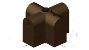 Фото. 3D-модель древнего бункера показала, что он являлся христианским подземным храмом
