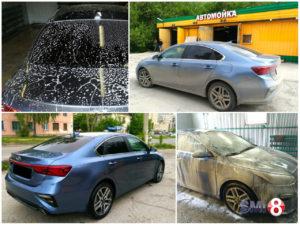 Керамическая мойка автомобиля