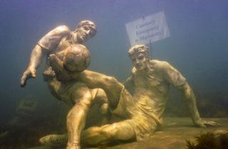 Фото. Памятник Кокорину и Мамаеву