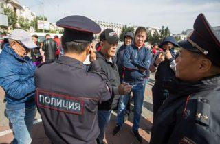 Фото. Протест выборов
