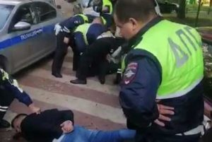 Фото. Задержание сына вице-президента МТС Алана Ибрагимова
