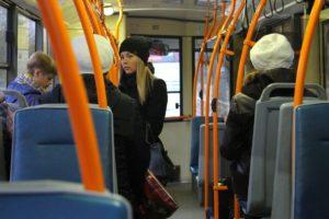 Фото. В автобусе Тамбова кондуктор заставил школьницу попрошайничать