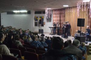 Выступление группы Лесоповал в СИЗО-6 Москва