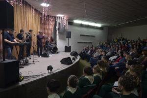 Выступление группы Лесоповал в СИЗО 6