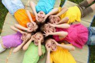 Фото. Дети в кругу.