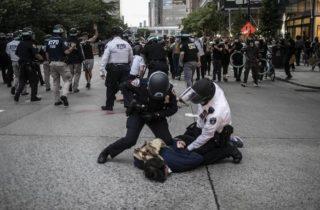 Фото. Беспорядки в США