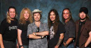 """Фото. """"Боги-металла"""" группа Iron Maiden по-прежнему так сильно востребована в мире, что не сможет приехать в Россию даже через год"""