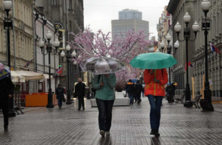 Фото. Погода в Москве
